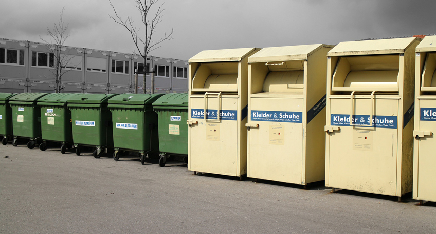 Recyclinghof der Stadtwerke Bad Oeynhausen im Überblick