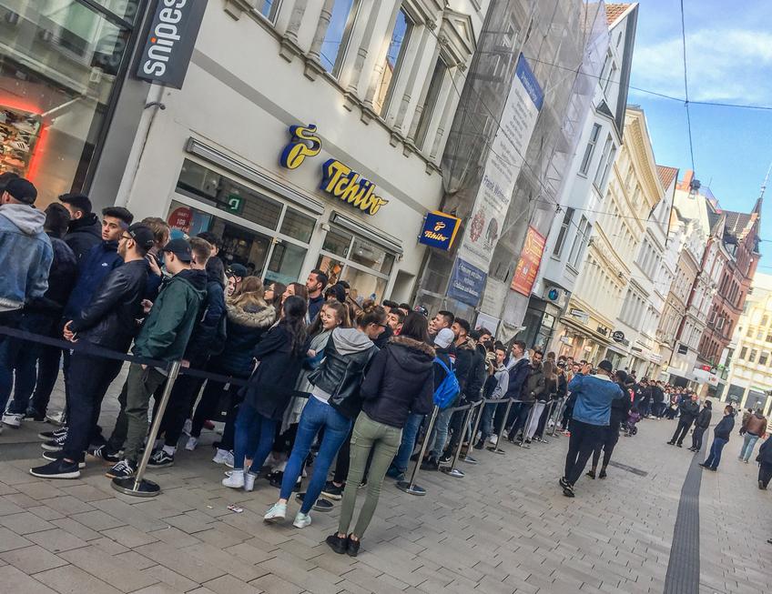 Vorbild für den Mindener Einzelhandel - Snipes füllt die Innenstadt