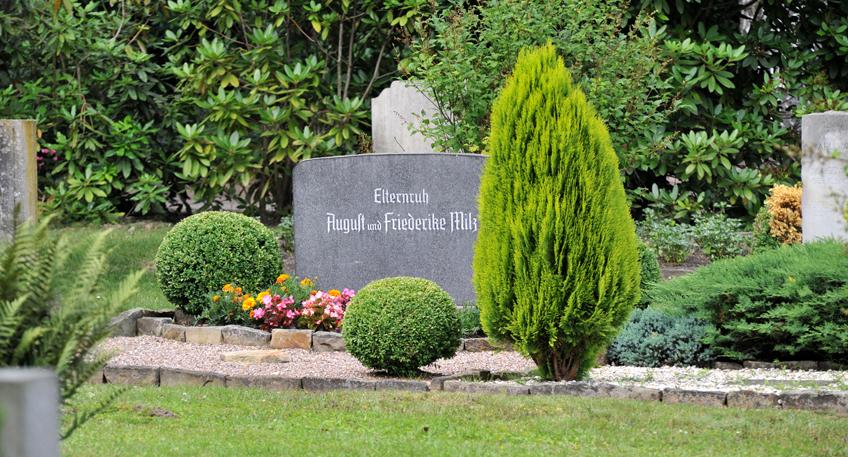 Einblick in Bestattungsvielfalt auf dem Nordfriedhof