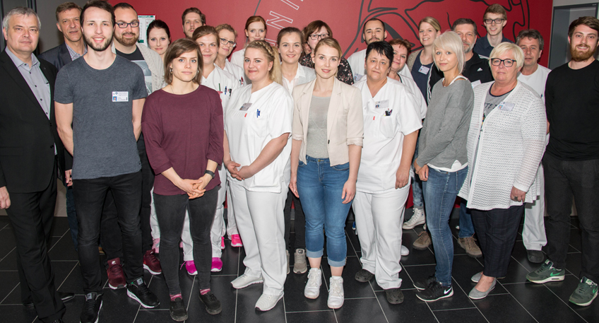 49 neue Pflegekräfte bei den Mühlenkreiskliniken
