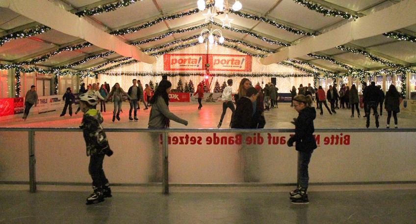 Nachrichten Porta Westfalica Porta On Ice Eisbahn Steht Vor