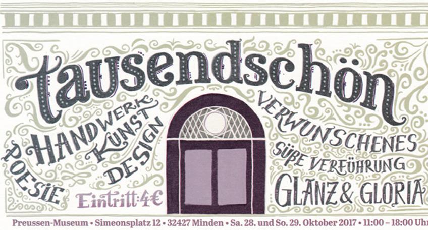 Ausstellung 'Tausendschön' im Preußenmuseum