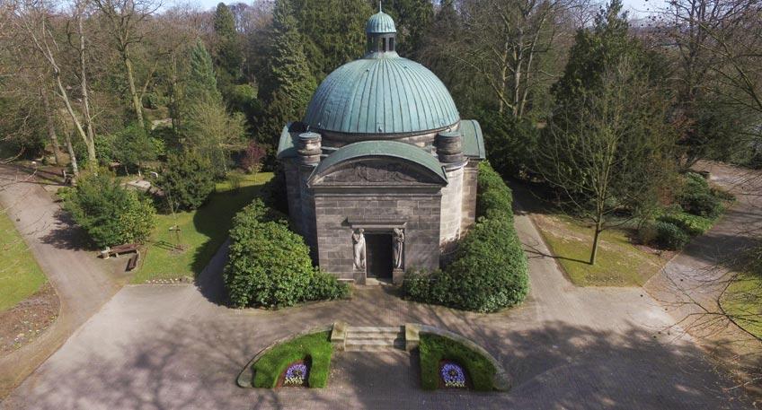 Gedenken an die Toten der Kriege: Zentrale Feier auf dem Nordfriedhof