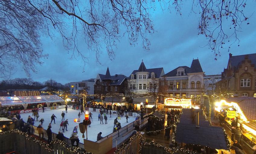 Bad Oeynhausen Weihnachtsmarkt.Nachrichten Bad Oeynhausen Weihnachtsmarkt Lockt Mit Open Air
