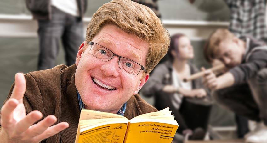 World of Lehrkraft: Comedian 'Herr Schröder' zu Gast in Minden