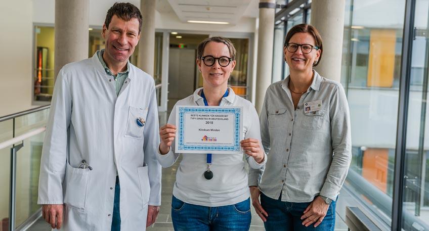 Mindener Kinderdiabetologie gehört zu den besten Deutschlands