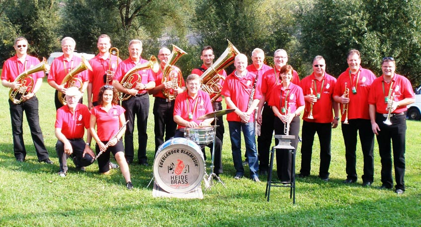 Heidebrass and Friends beim Mindener Hafenkonzert