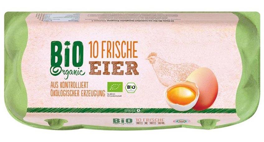 LIDL ruft Bio-Eier zurück