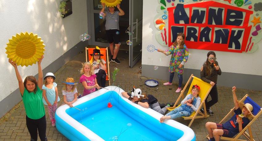 Großer Ferienspaß im Anne Frank