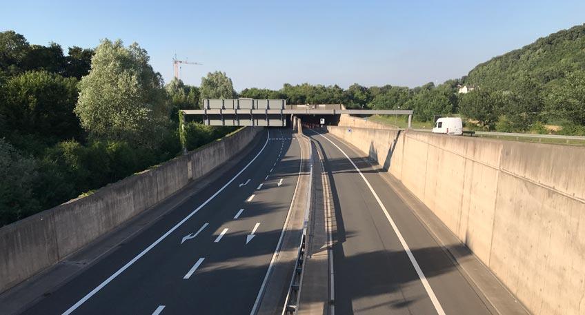 20180914 hallo minden tunnel gesperrt