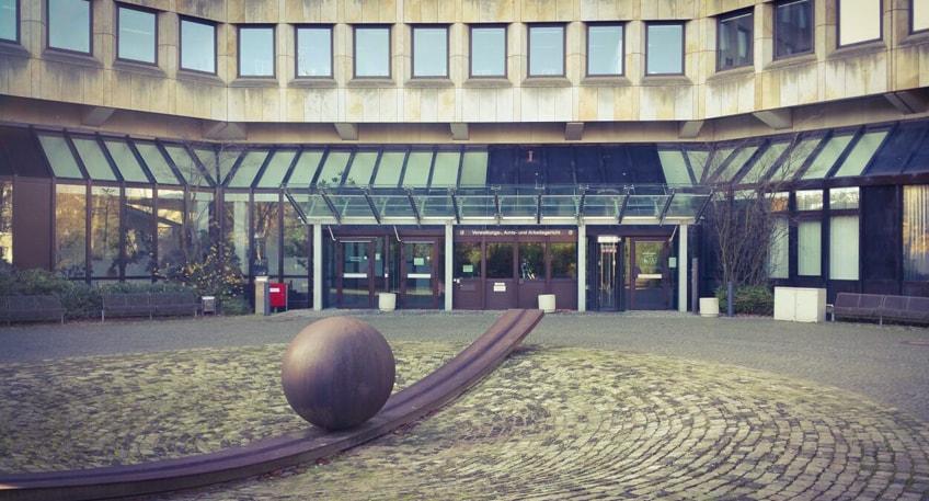 'Die Landschaft als Atelier' - Vernissage im Gerichtszentrum