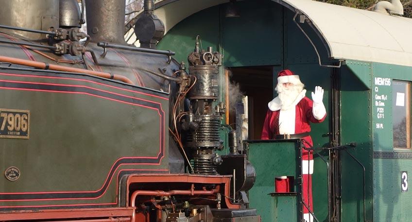 Nikolausfahrten der Museums-Eisenbahn Minden