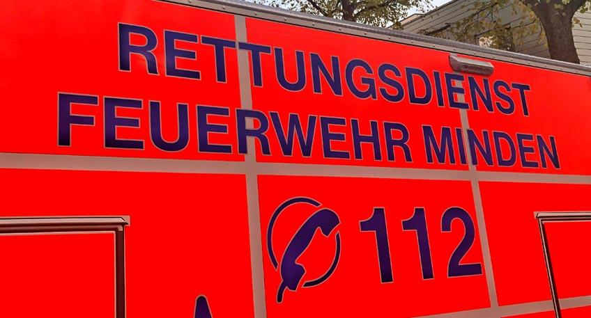 Drei Verletzte bei Unfall auf Hermannstraße