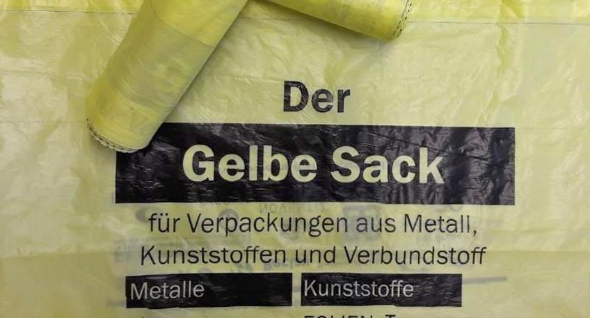 Probleme bei Abfuhr von Gelben Säcken in Petershagen