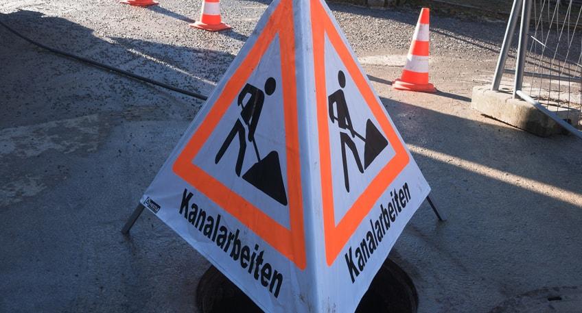 Kanalsanierungsarbeiten in Bad Oeynhausen