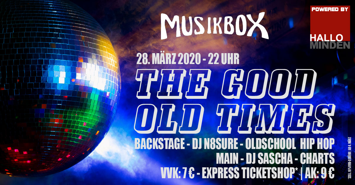 The good old times musikbox minden