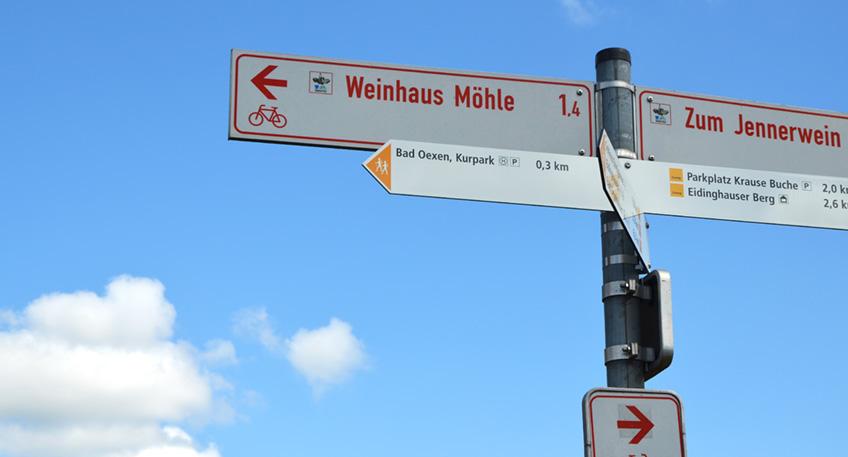 Vom Kaiser-Wilhelm-Denkmal bis nach Osnabrück führt der Wittekindsweg und ist damit ein essentieller Bestandteil der Wanderregion Teutoburger Wald. Bisher kam man erst unmittelbar am Wiehengebirge auf den beliebten Pfad. Das ändert die neue Zuwegung, die vom Inowroclwaw-Platz über den Sielpark und Eidinghausen bis hinauf auf den Kamm führt.
