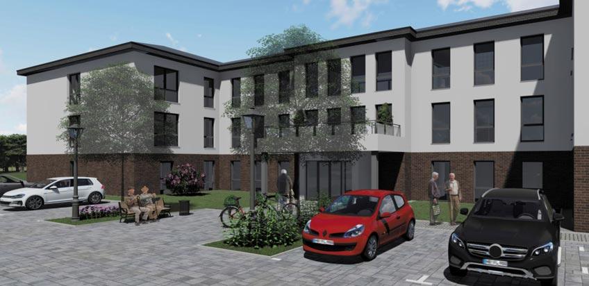 In Petershagen-Lahde wird eine neue Wohneinrichtung der Diakonie Stiftung Salem entstehen. Der Bauantrag für das ca. 5.100 m² große Grundstück ist gestellt. In der Dingbreite in Lahde wird ein Investor auf seinem Grundstück die Einrichtung bauen. Die Diakonie Stiftung Salem fungiert als Betreiber.