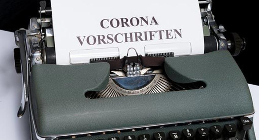 corona-vorschriften