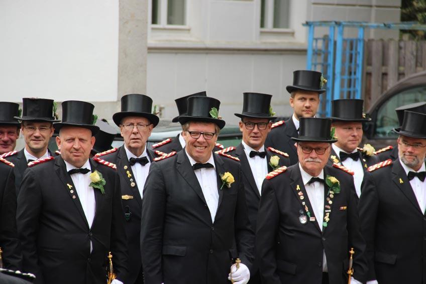 336 Jahre Bürgerbataillon