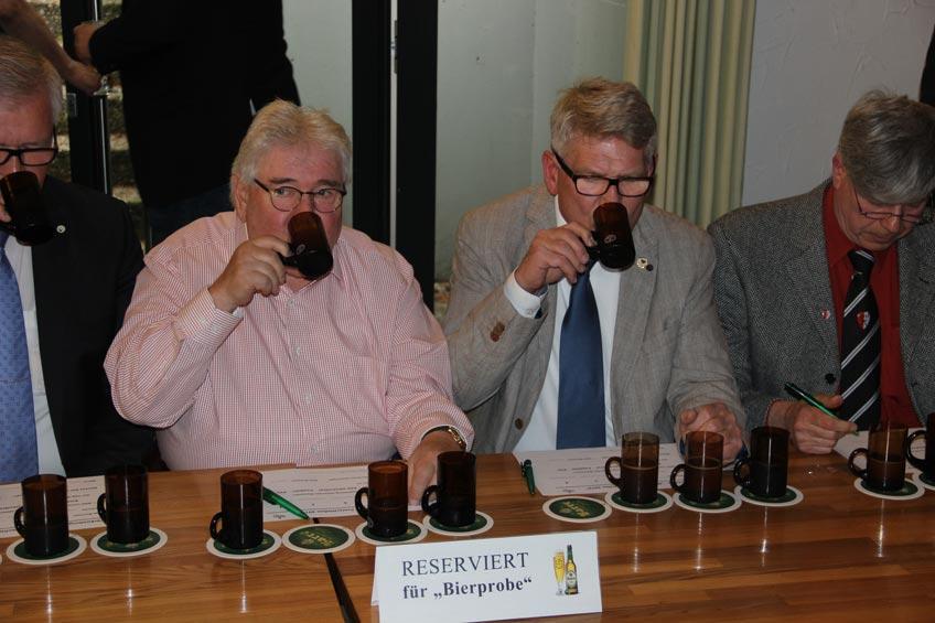 Bierprobe für das Freischießen 2019