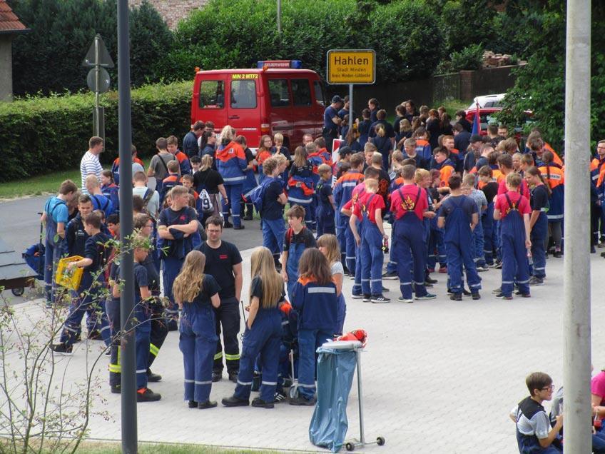 Orientierungswandern der Jugendfeuerwehren