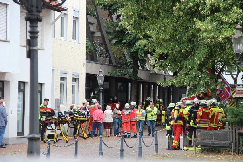 Brand in der Altstadt