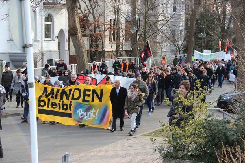 Demonstration Bündnis