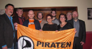 Diskussion und Information mit den Piraten in Minden