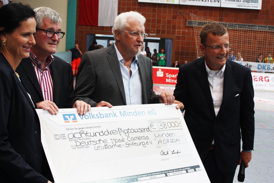 Benefizspiel zugunsten der José CARRERAS Leukämie- Stiftung