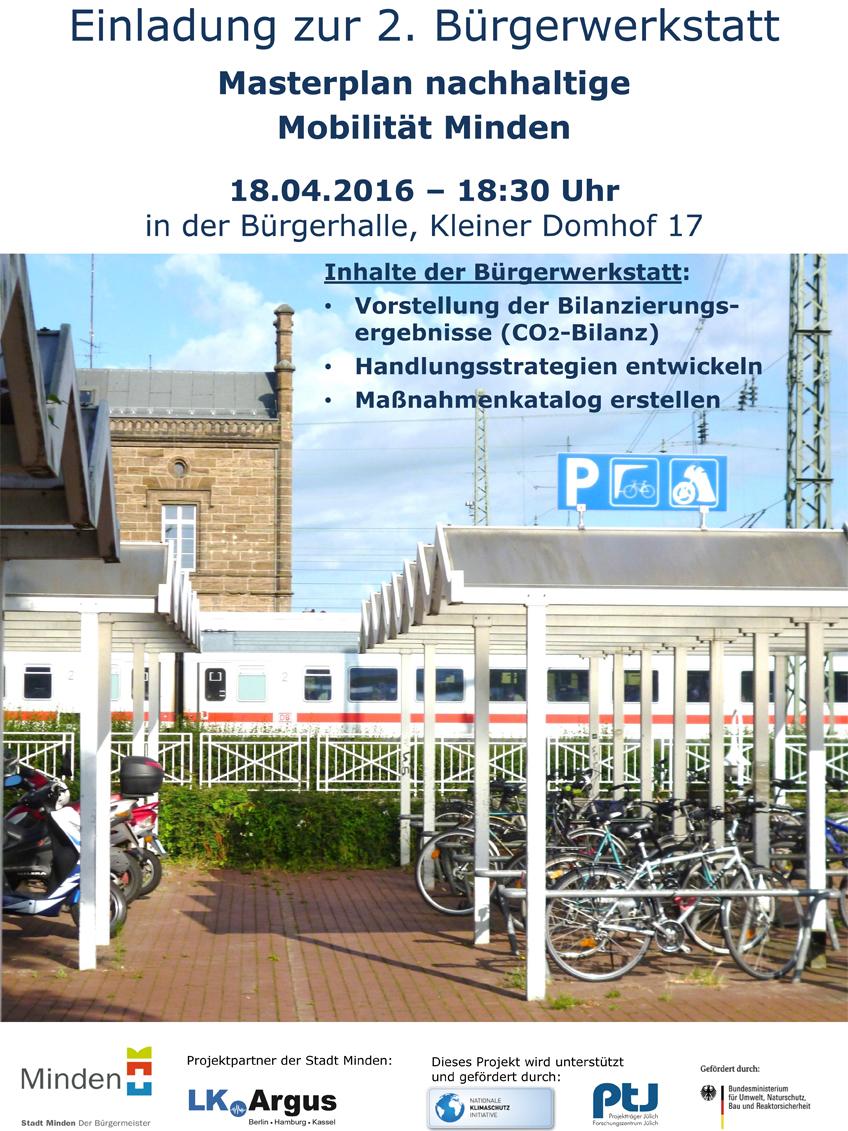 """Zweite Bürgerwerkstatt """"Masterplan nachhaltige Mobilität"""""""
