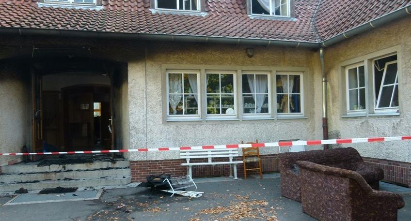 Nachrichten Petershagen - Nach Brandstiftung ermitteln ...