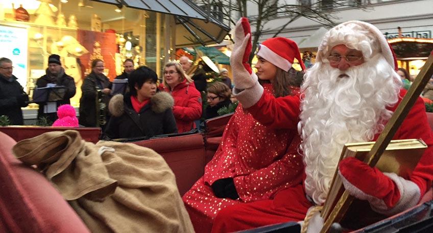 Bad Oeynhausen Weihnachtsmarkt.Nachrichten Bad Oeynhausen Der Nikolaus Kommt Auf Den
